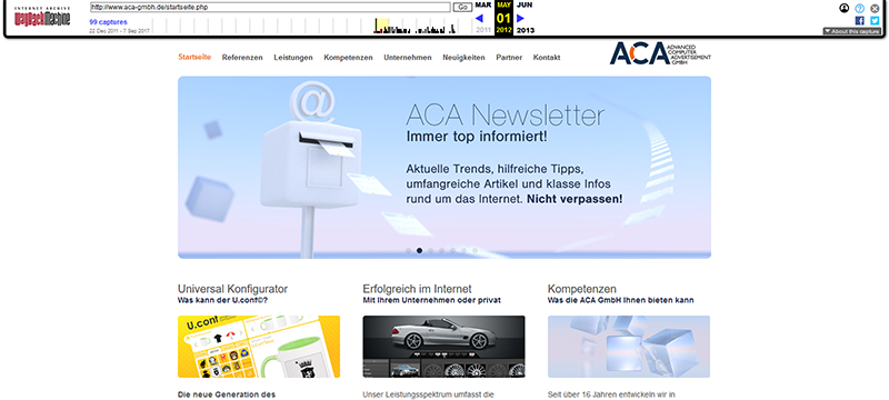 aca website from 2012
