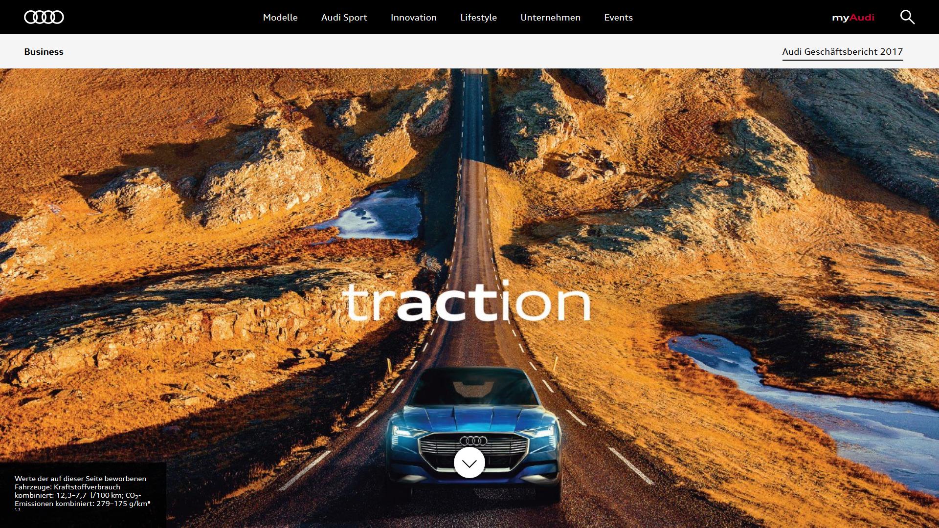 Audi Geschäftsbericht 2017