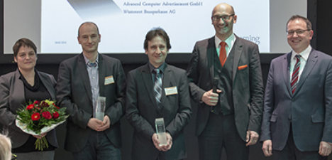 "Preisverleihung des eLearning Awards ""Project of the year"